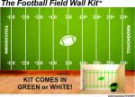 football field wall art - wall art decals - diy wall decals - removable wall mural